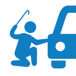 auto-knacken symbol